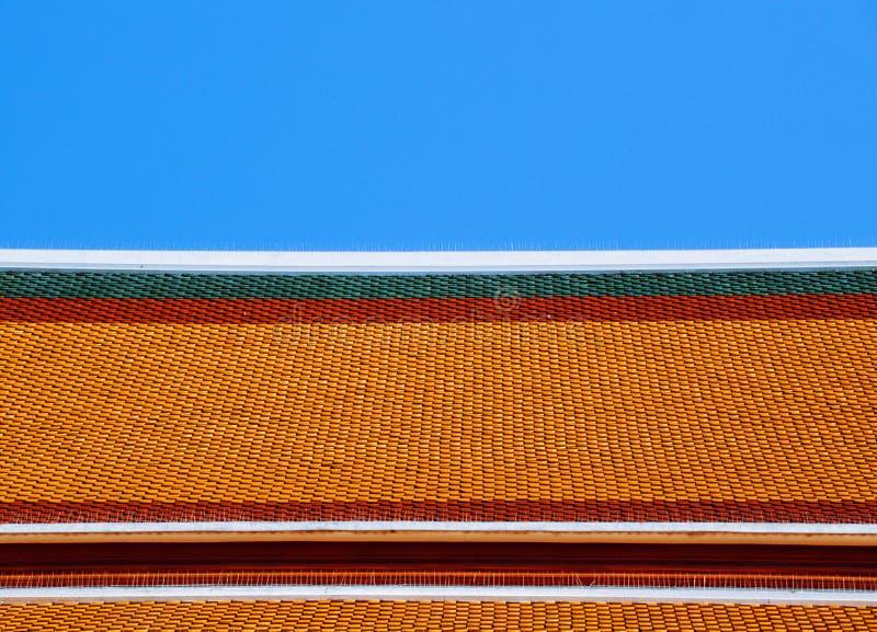 Un tejado superior imagen de archivo