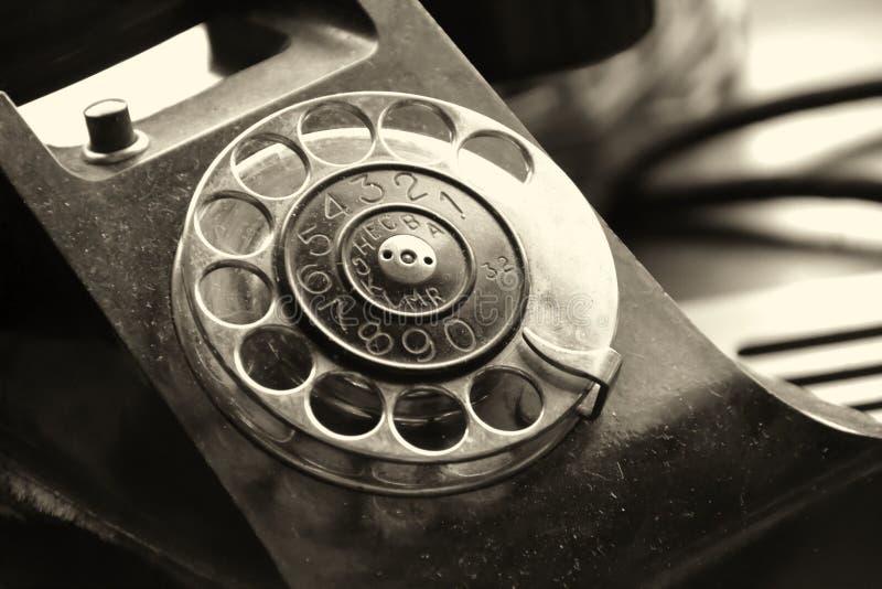 Un teléfono viejo imagenes de archivo