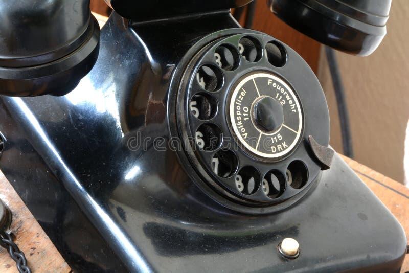 Un teléfono viejo fotografía de archivo libre de regalías