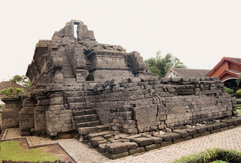 Un tempio della reliquia di singasari di regno in Malng fotografia stock