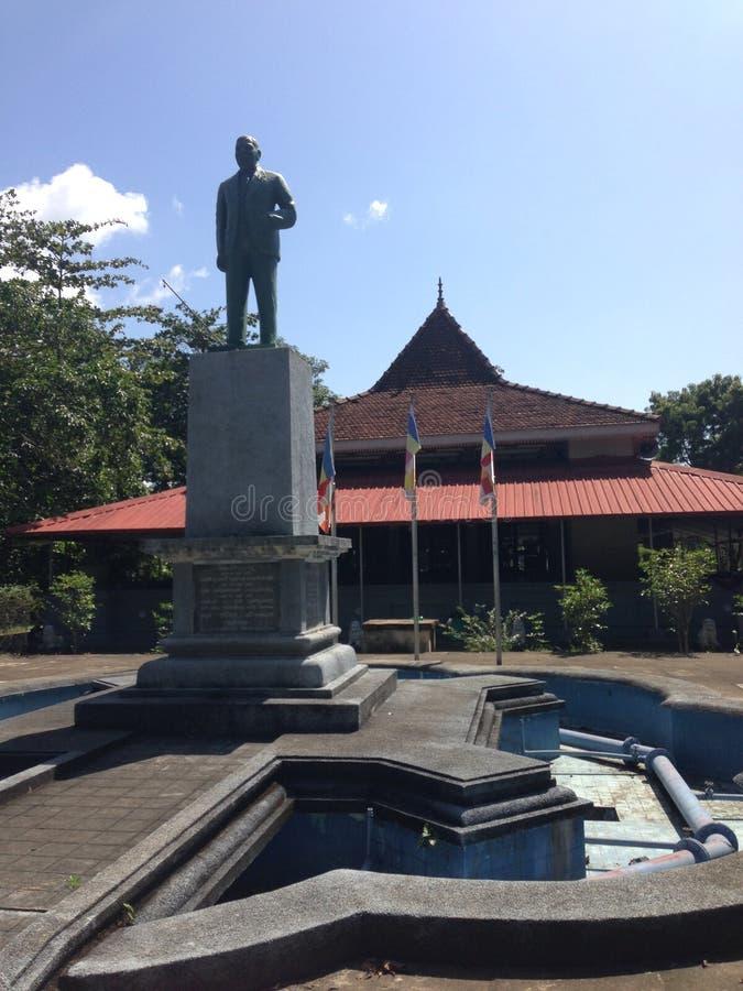 Un tempio in Sri Lanka fotografie stock libere da diritti