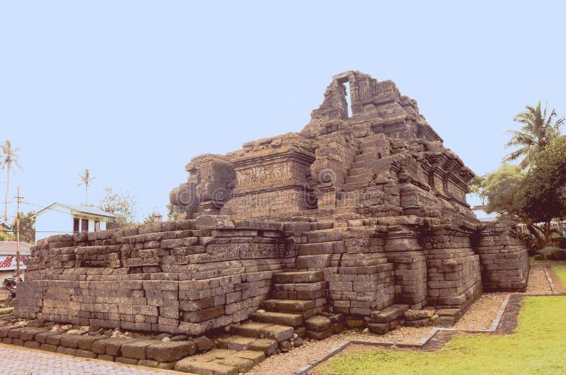 Un temple de relique de singasari de royaume dans Malng image libre de droits