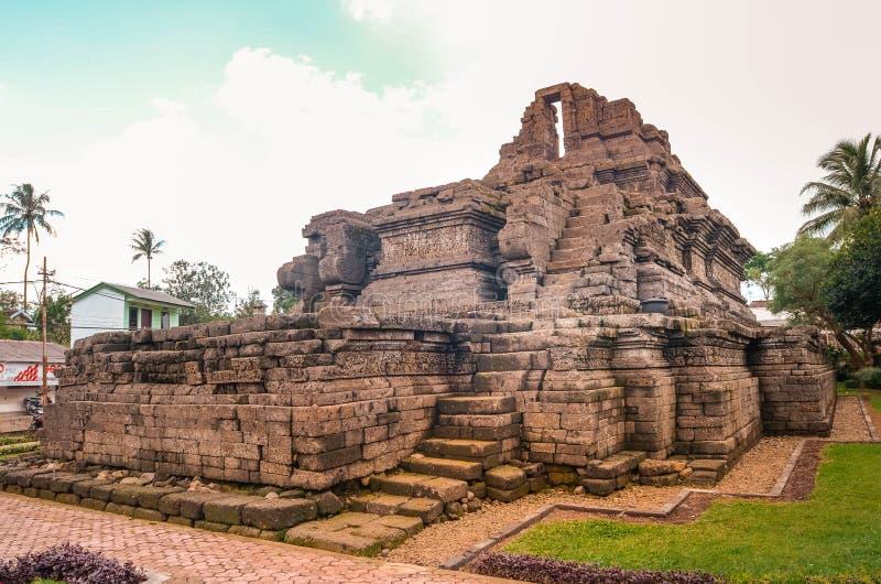 Un temple de relique de singasari de royaume dans Malng photographie stock