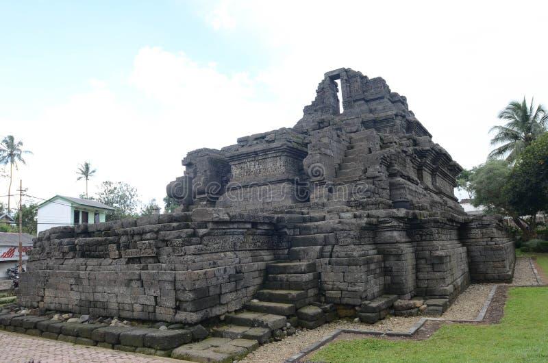Un temple de relique de singasari de royaume dans Malng photos stock