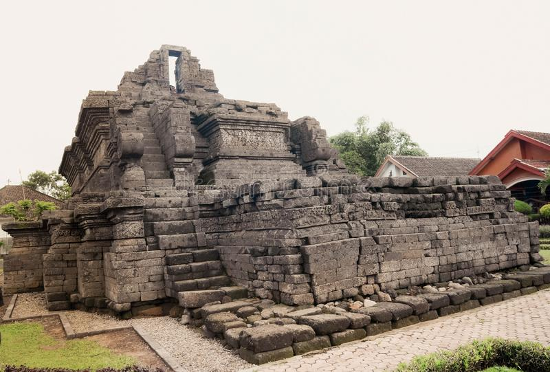Un temple de relique de singasari de royaume dans Malng photo stock