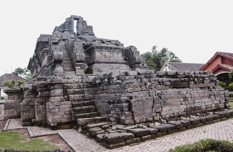 Un temple de relique de singasari de royaume dans Malng photo libre de droits