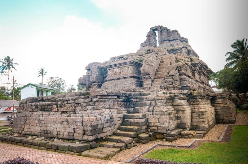 Un temple de relique de singasari de royaume dans Malng images libres de droits
