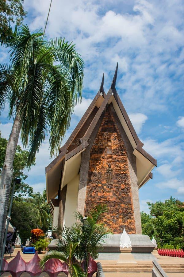 Un temple en Thaïlande photos libres de droits