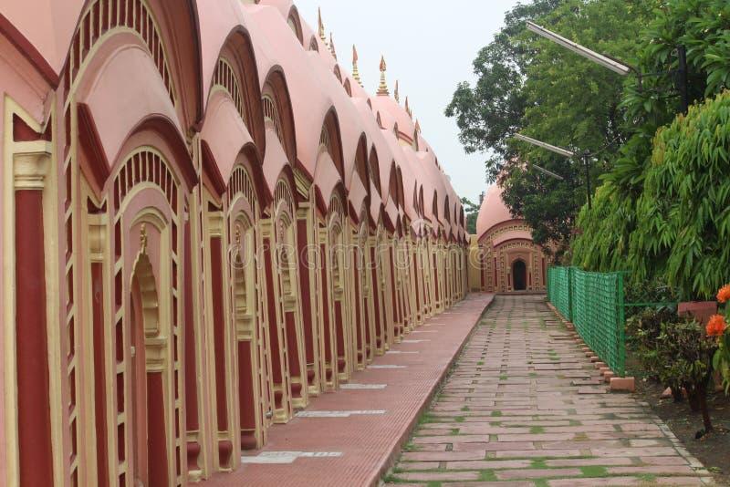 Un templo hindú del shiva fotografía de archivo libre de regalías