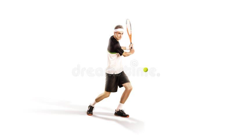 Un tennis isolato su fondo bianco immagine stock libera da diritti