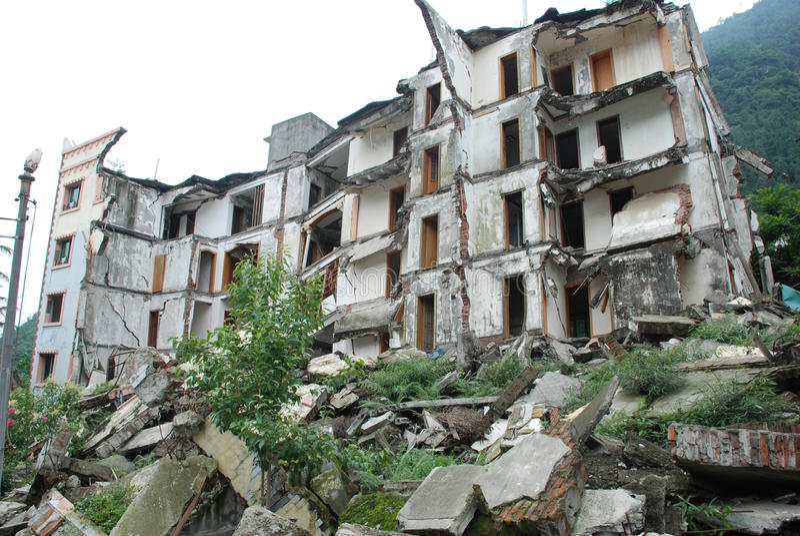 Un terremoto di 2008 512 Wenchuan immagini stock