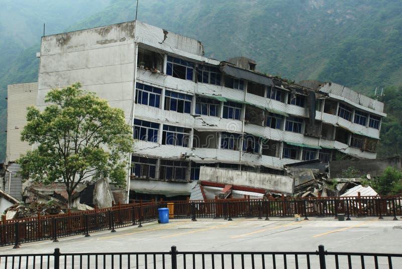 Un terremoto di 2008 512 Wenchuan immagini stock libere da diritti