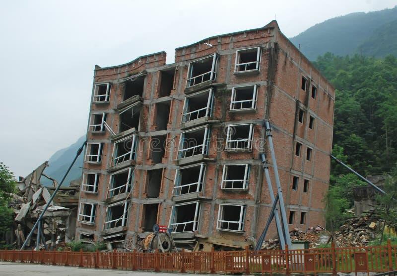 Un terremoto di 2008 512 Wenchuan fotografia stock