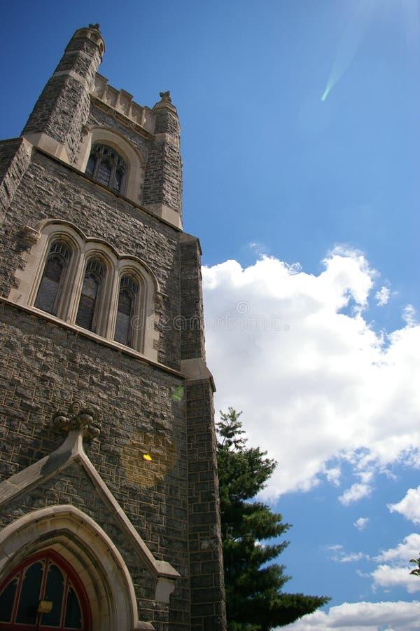 Un tiro de la capilla en los E.E.U.U. foto de archivo