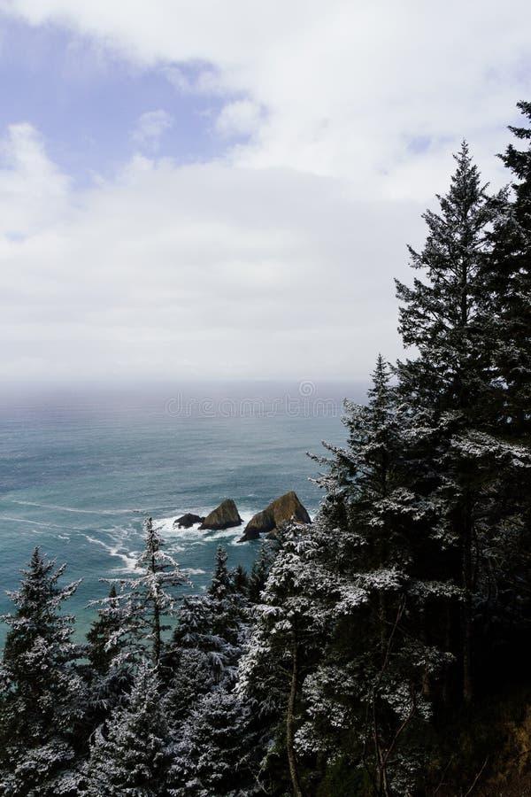 Un tiro hermoso de un mar fotografía de archivo libre de regalías