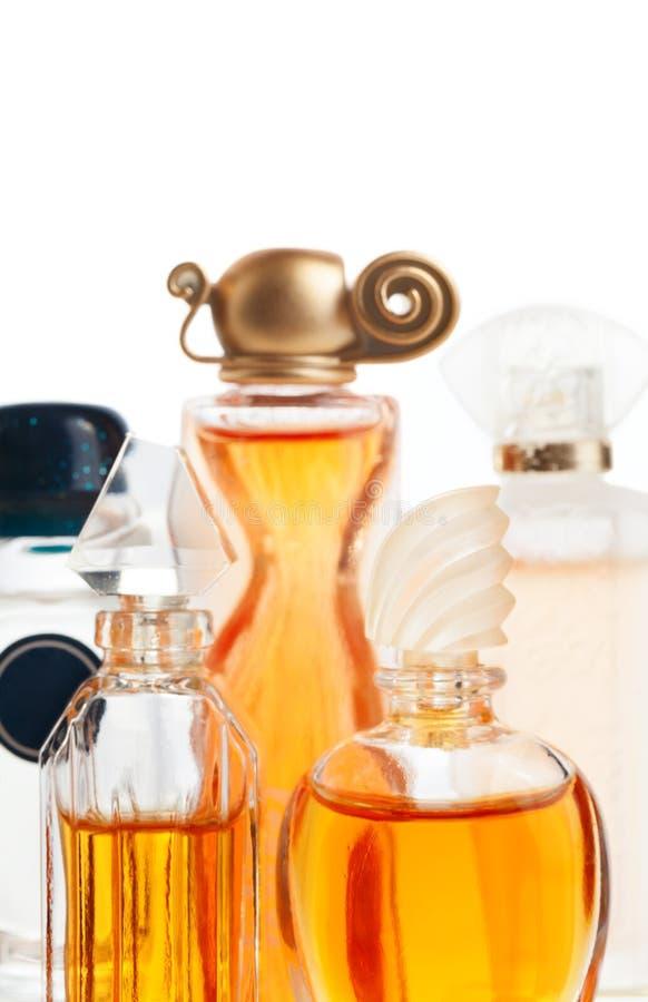 Botellas de perfume imágenes de archivo libres de regalías
