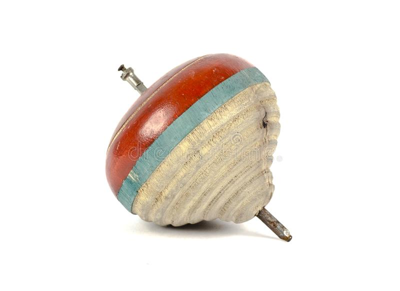 Un top de madera del juguete fotos de archivo