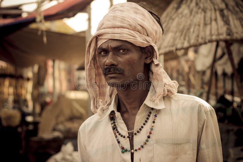 Un trabajo típico del indio fotos de archivo