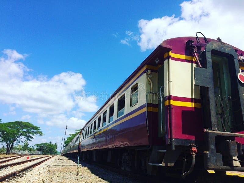 Un train photographie stock