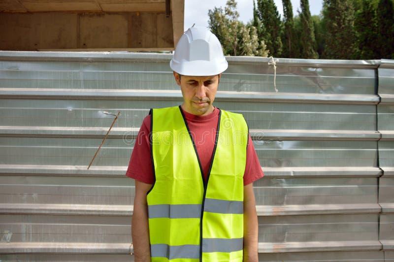 Un travailleur congédié photos libres de droits