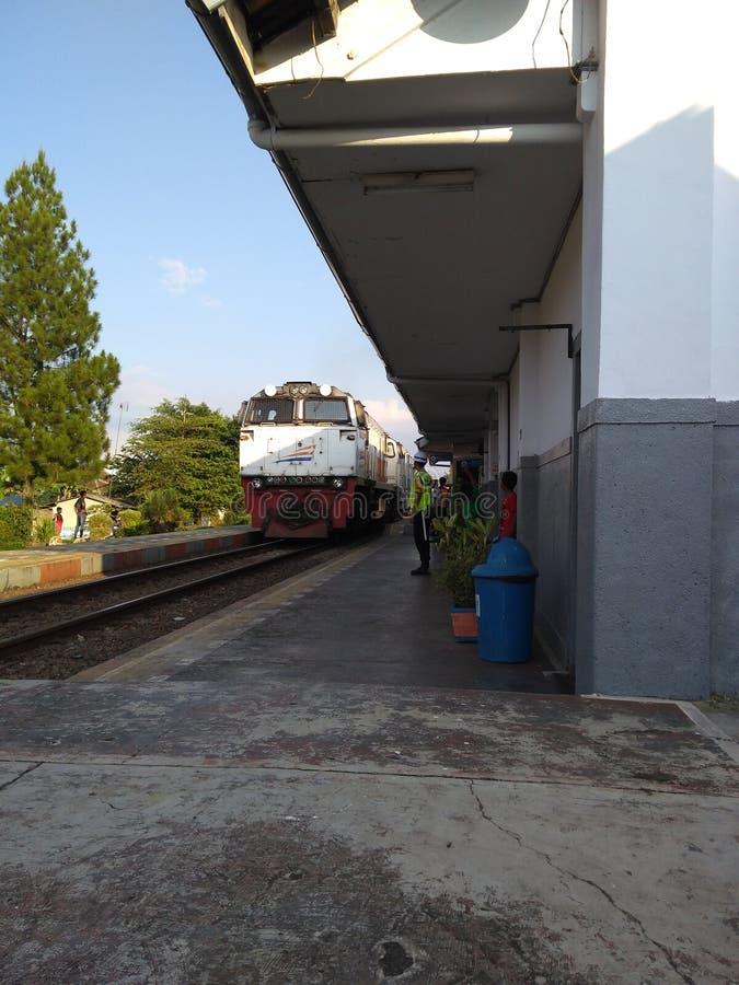 Un treno fotografia stock