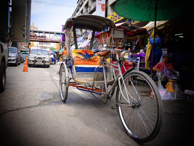 Un tricicle en Chiang Mai Thailand imágenes de archivo libres de regalías