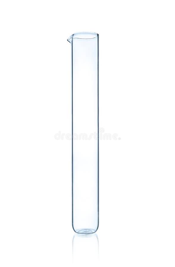 Un tubo della prova di laboratorio fotografia stock