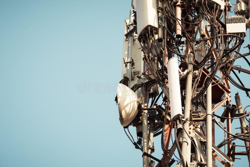 Un uccello ha macchiato un trasformatore ad alta tensione Gli uccelli non ottengono colpiti poichè non sono buoni conduttori dell fotografia stock libera da diritti