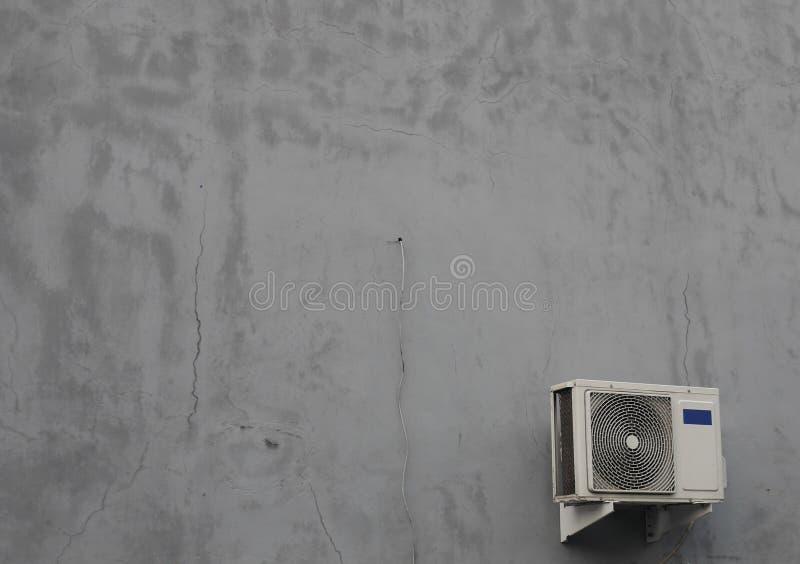Un'unità all'aperto del condizionatore d'aria fotografie stock libere da diritti