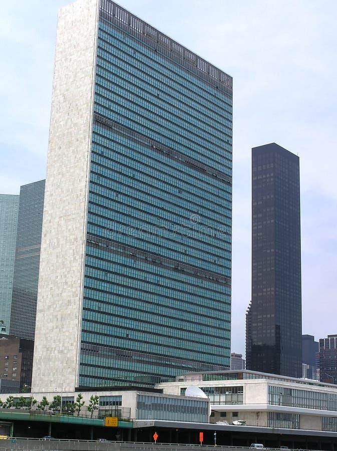 UN United Nations Headquarters Building UN stock photos