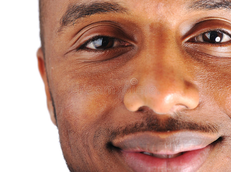 Un uomo dell'afroamericano fotografia stock