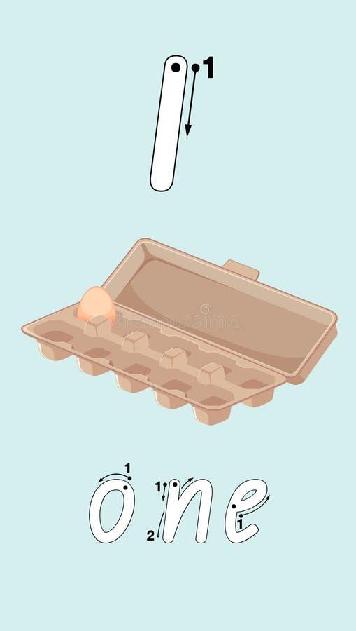 Un uovo in cartone royalty illustrazione gratis