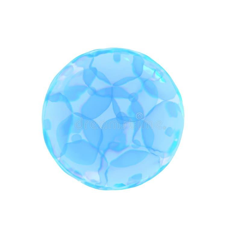 un uovo di 16 cellule illustrazione di stock