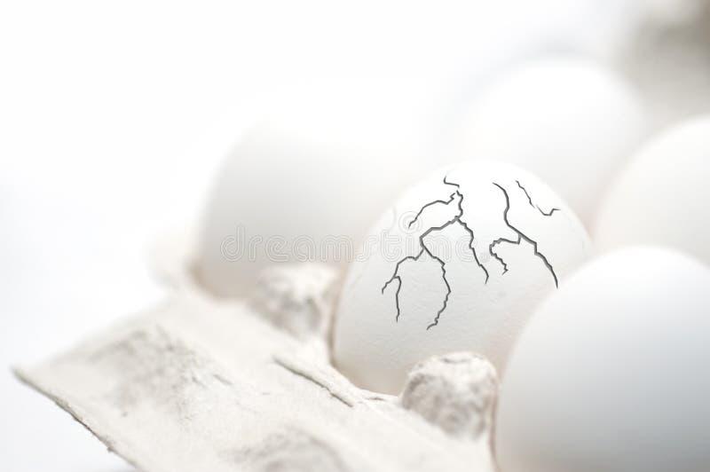 ?Un uovo di Pasqua? fotografia stock libera da diritti