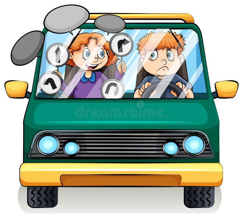 Un véhicule illustration libre de droits