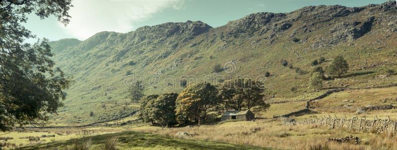 Un valle en el distrito del lago imagen de archivo