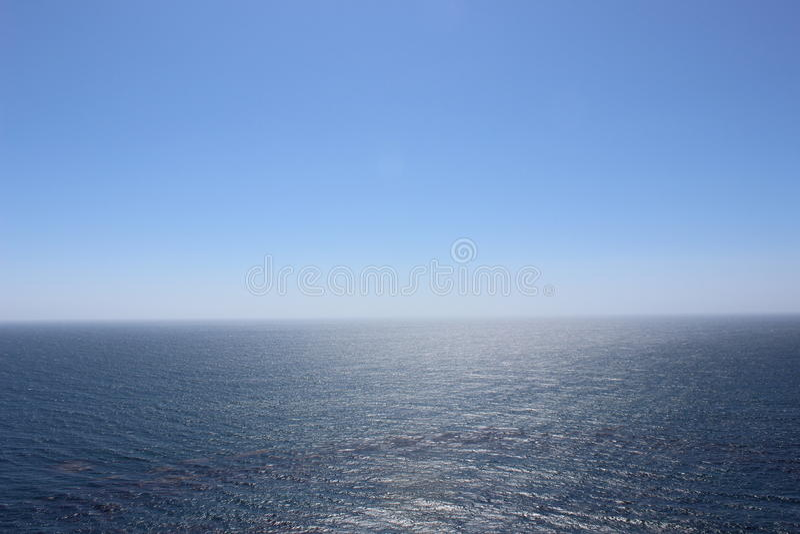 Un vaste océan images libres de droits