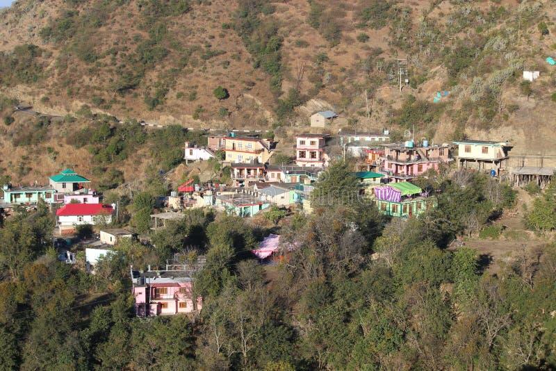 Un vellige typique de garwali d'uttrakhand image libre de droits