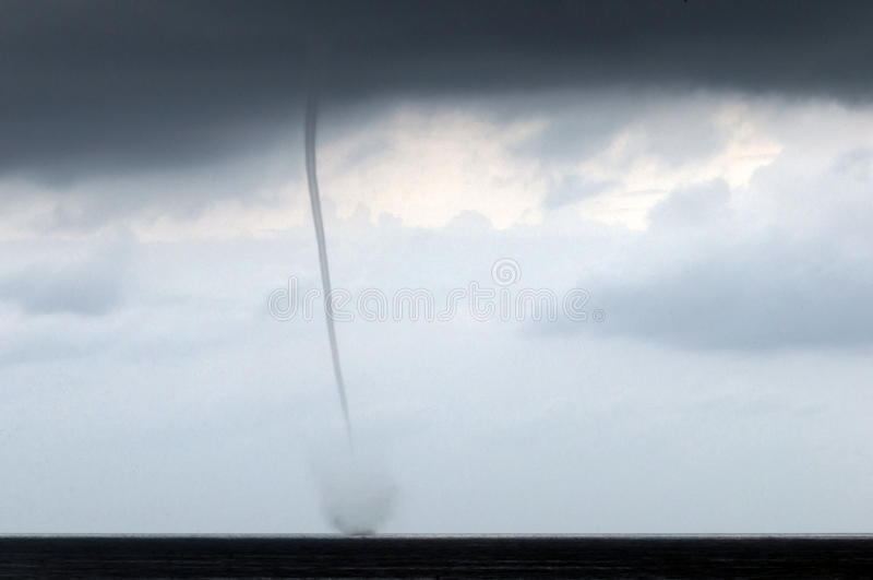 Un vent de tornade photo libre de droits