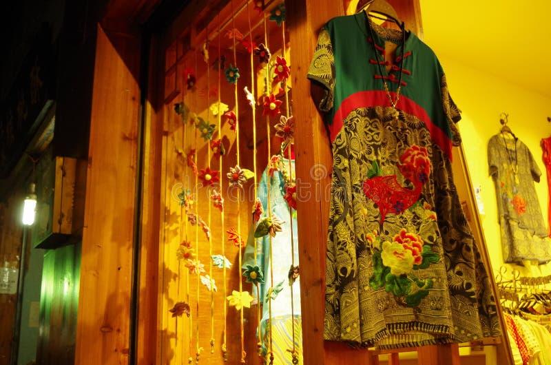 Un vestito cinese immagini stock libere da diritti