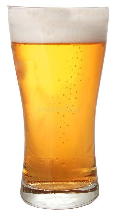 Un vetro di birra immagine stock