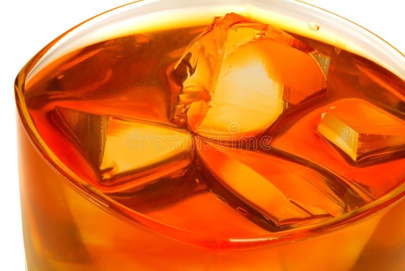 Un vetro di whisky immagine stock