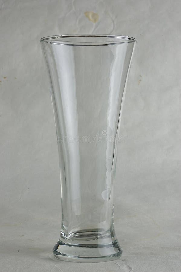 Un vidrio foto de archivo