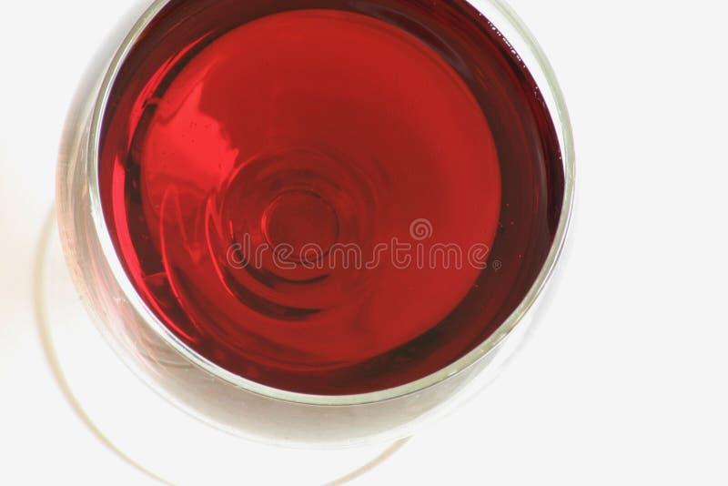 Un vidrio de vino rojo fotos de archivo libres de regalías