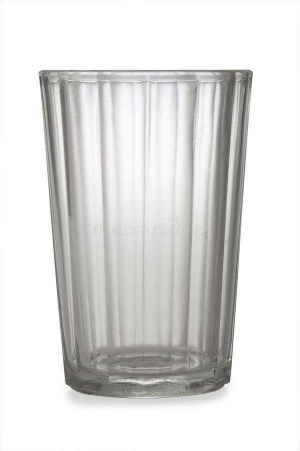 Un vidrio vacío imagen de archivo