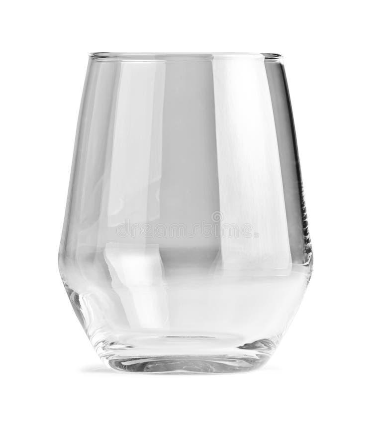 Un vidrio vacío para las bebidas del frío diseñó por Ola Wihlborg imagenes de archivo