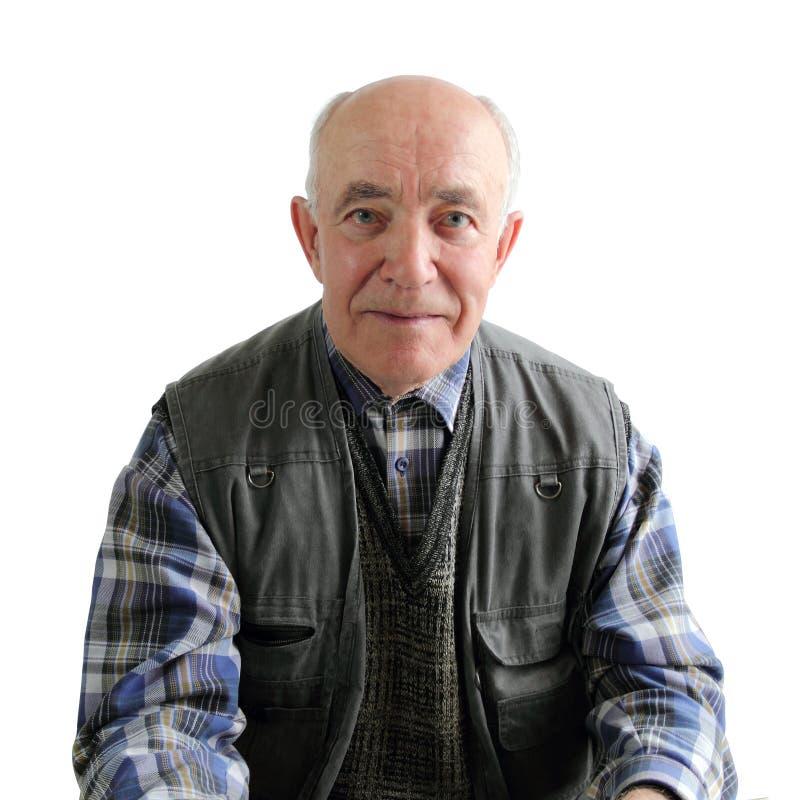 Un vieil homme photo libre de droits