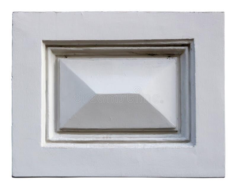 Un vieux bâti à la maison standard sous forme de rectangle est fait à o photos libres de droits