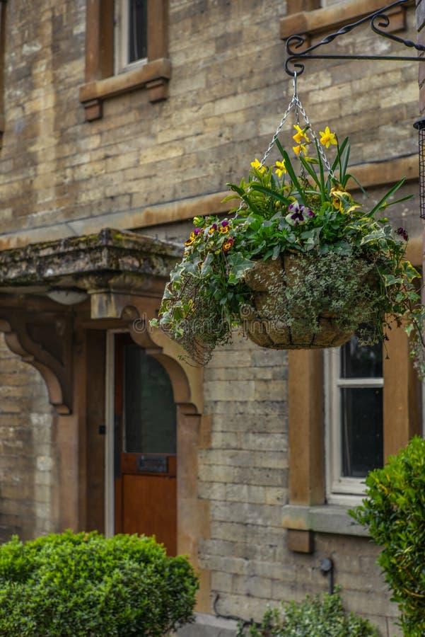 Un vieux cottage anglais dans Oxfordshire - 1 image libre de droits