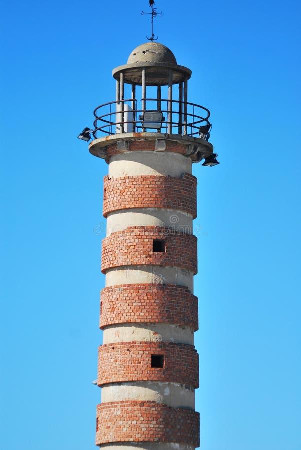 Un vieux phare photographie stock libre de droits